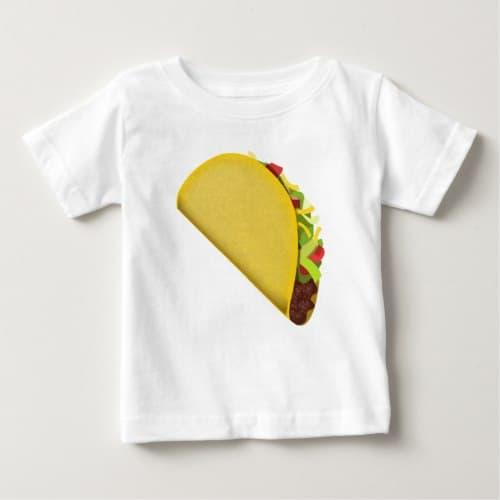 Taco Emoji Baby T-Shirt