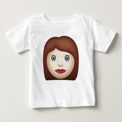 Woman Emoji Baby T-Shirt