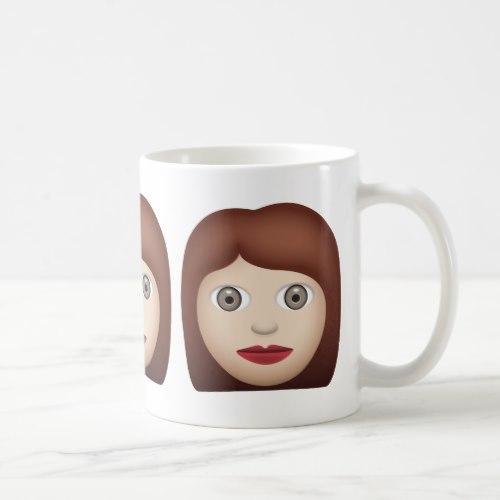 Woman Emoji Coffee Mug