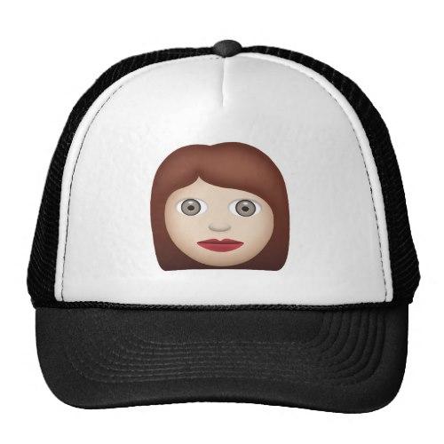 Woman Emoji Trucker Hat