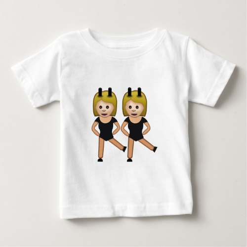Woman With Bunny Ears Emoji Baby T-Shirt