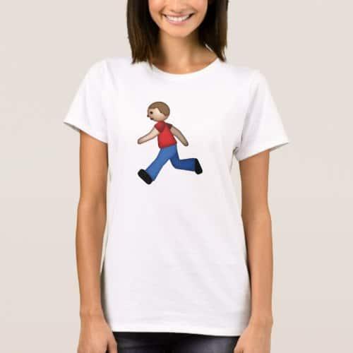 Runner Emoji T-Shirt for Women