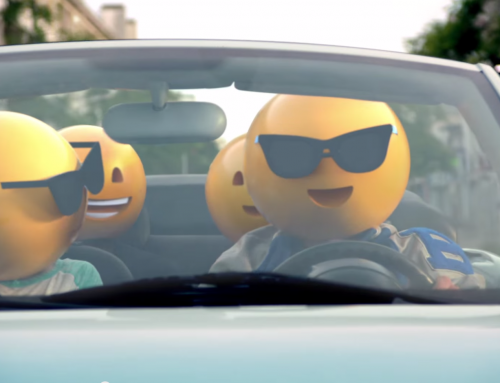This video shows what the world would look like with humans having Emoji heads