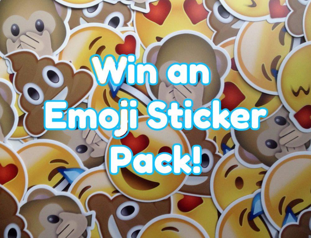 Get Sticky and Win an Emoji Sticker Pack