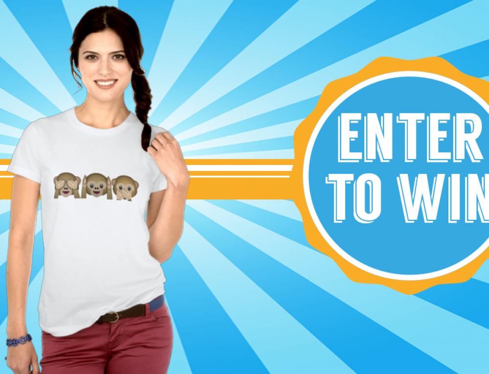 Win an awesome Emoji Shirt